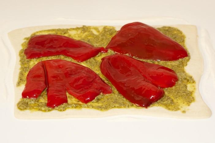Pesto rolice punjene paprikom