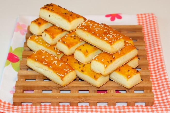Krekeri od svježeg sira 9