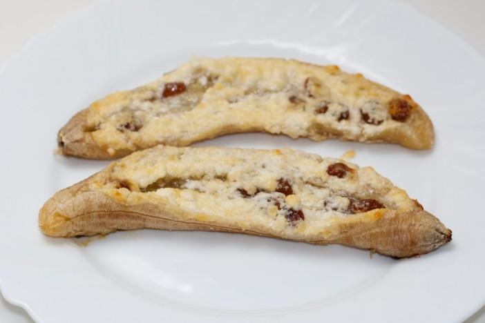 Pecene banane s medom i sirom 6