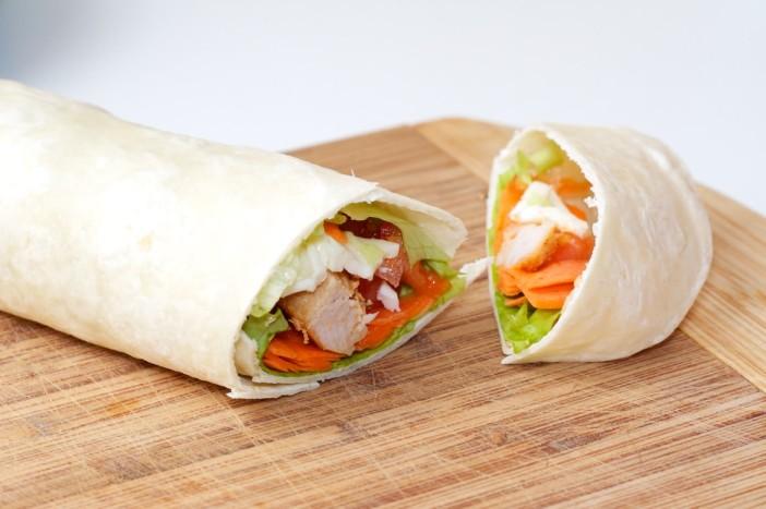 Tortilja s puretinom i povrćem 11