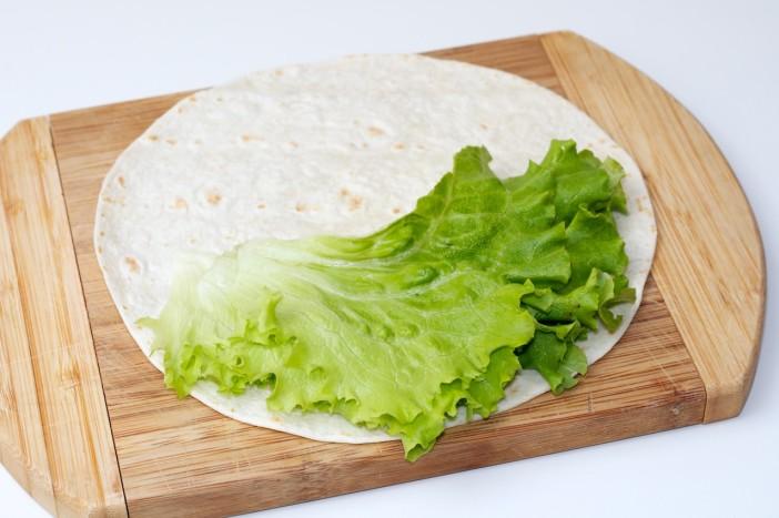 Tortilja s puretinom i povrćem 5