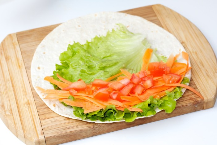 Tortilja s puretinom i povrćem 7