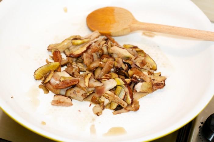 Tjestenina s pikant umakom od vrganja i prepeličjim jajima 1