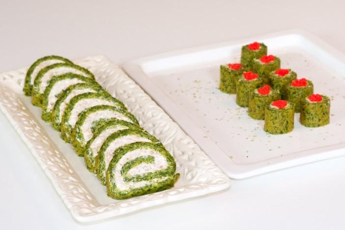 Sushi od špinata sira i tune 23