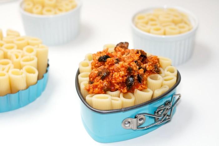 Zapecena tijestenina s mesnim raguom 6