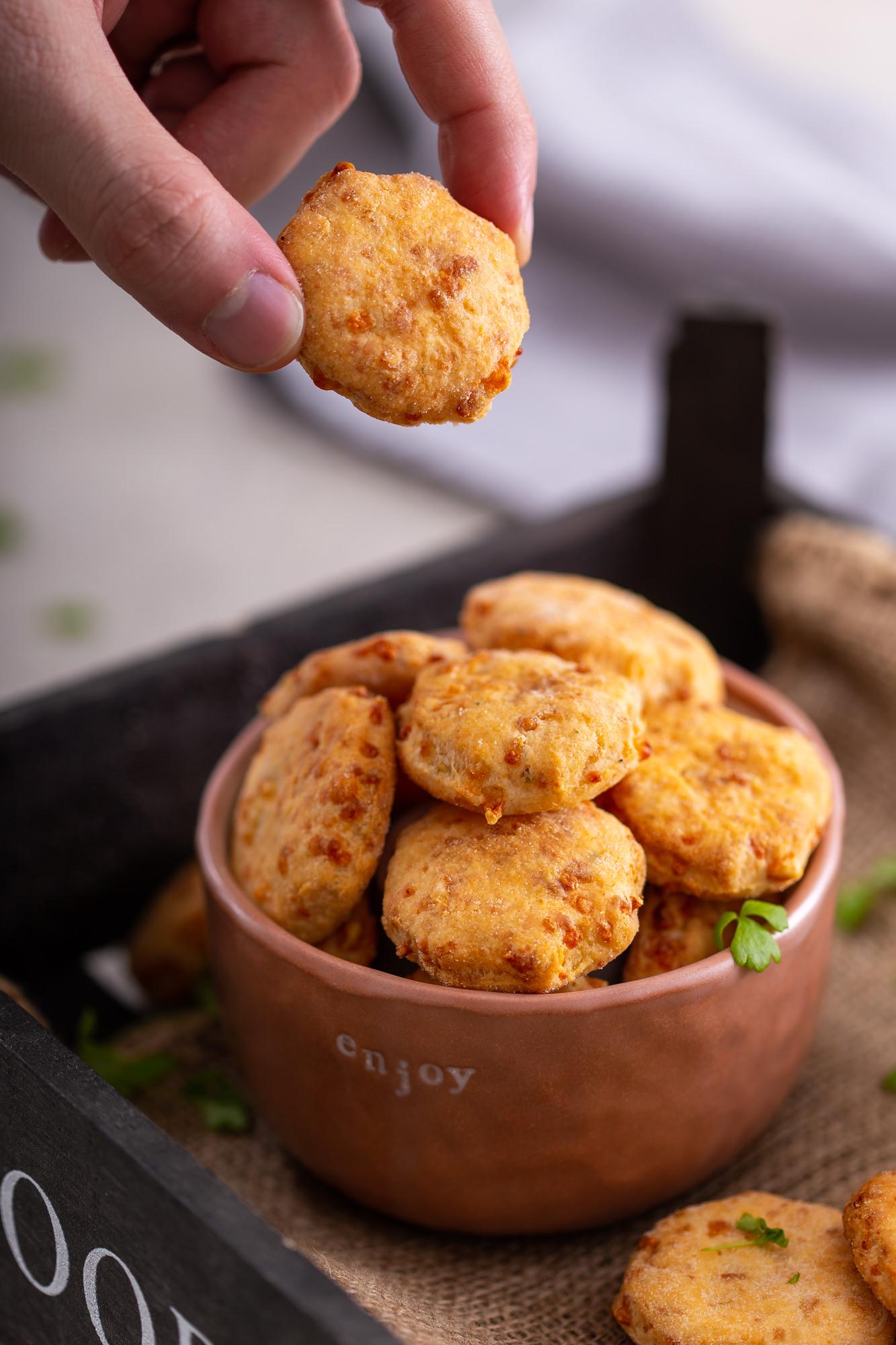 Domaći krekeri od sira recept