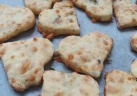 sirni krekeri u obliku srca