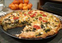 recept za quiche s puno povrća