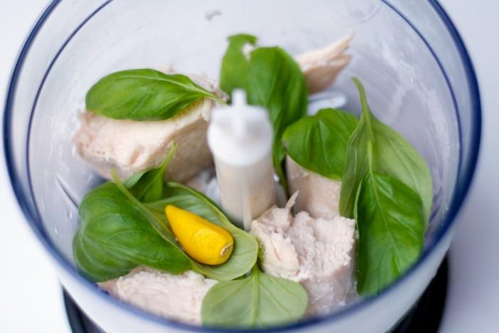 Piletina s povrcem u lisnatom tijestu kosarice 4
