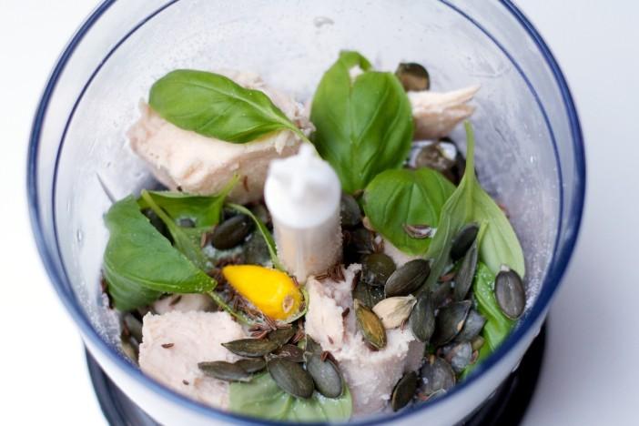 Piletina s povrcem u lisnatom tijestu kosarice 5