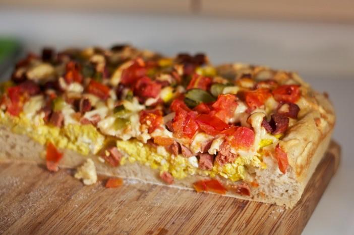 Pizza s kajganom za dorucak 15