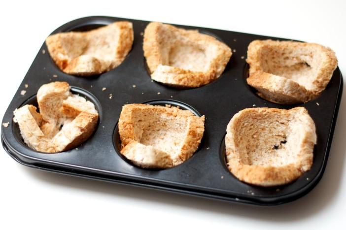Tost muffini punjeni mortadellom i jajima 3