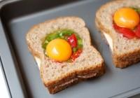 peceni tost sendvic s jajetom