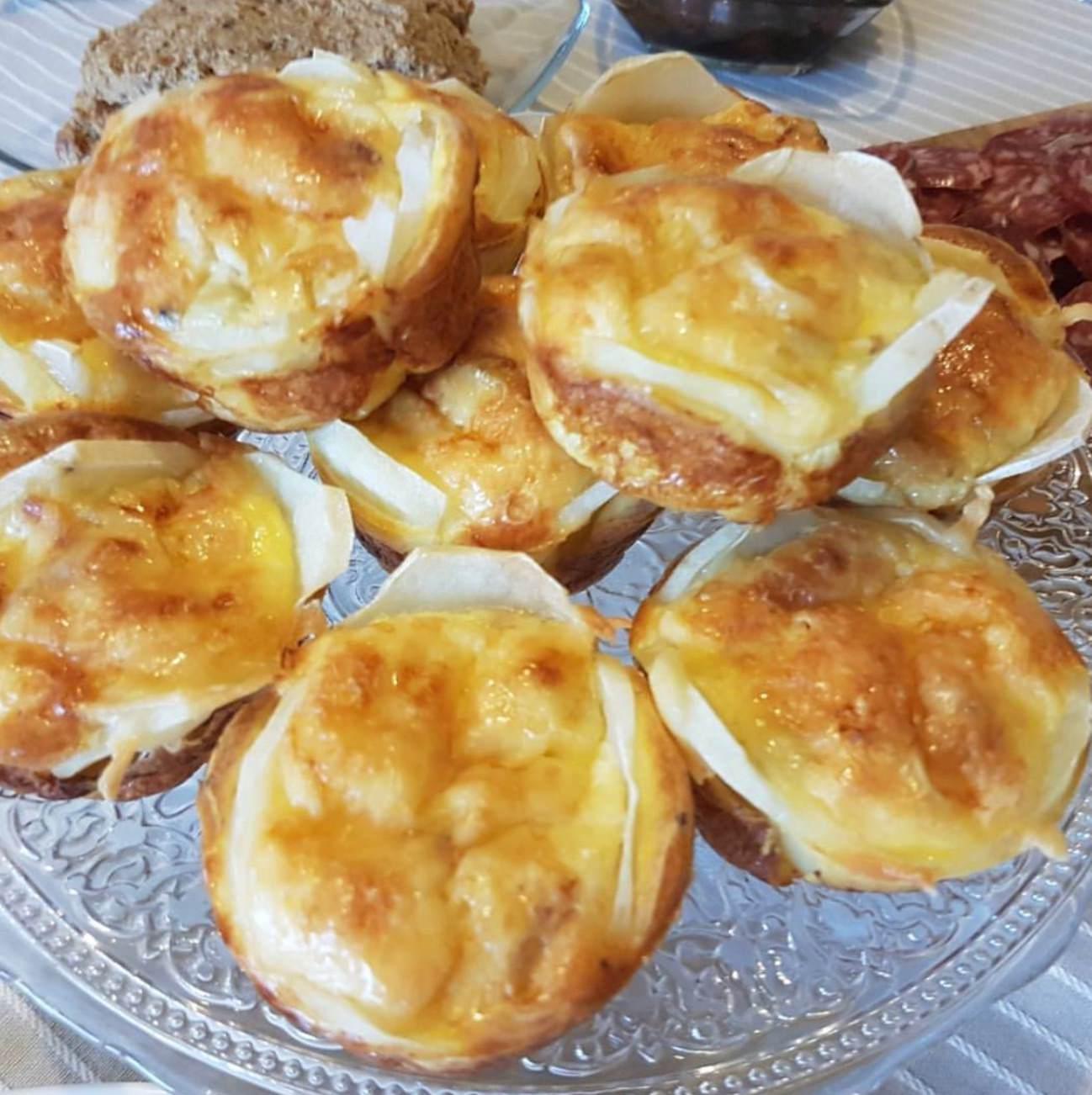 mini quiche muffini