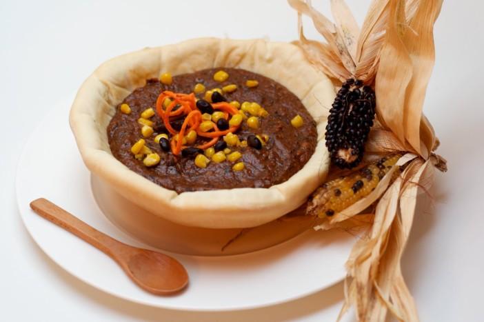 Najbolji domaći crni grah s kukuruzom pecenom paprikom batatom 11