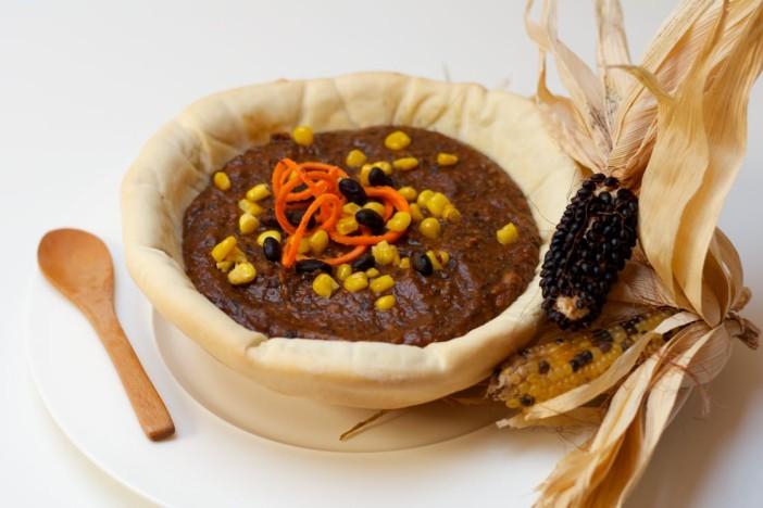 Najbolji domaći crni grah s kukuruzom pecenom paprikom batatom 9