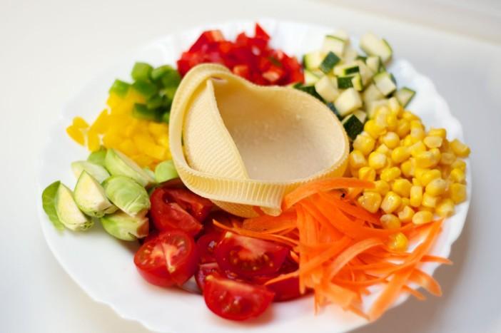 Talijanska tjestenina s povrce brusketama i parmezanom 13