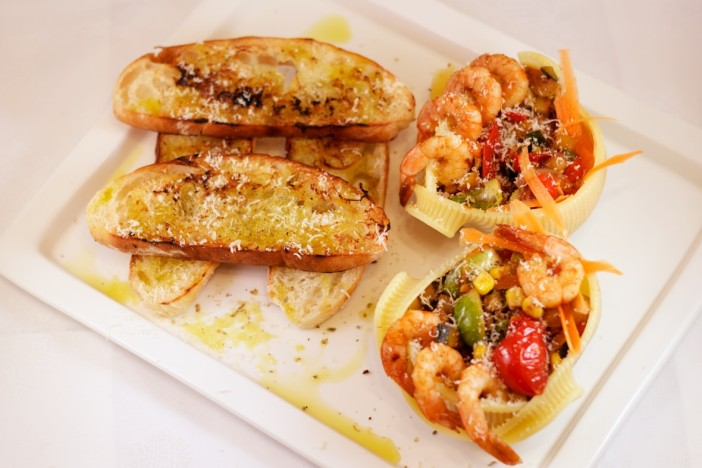 Talijanska tjestenina s povrce brusketama i parmezanom 3