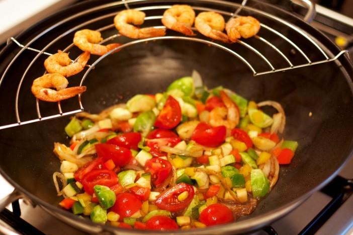 Talijanska tjestenina s povrce brusketama i parmezanom 6