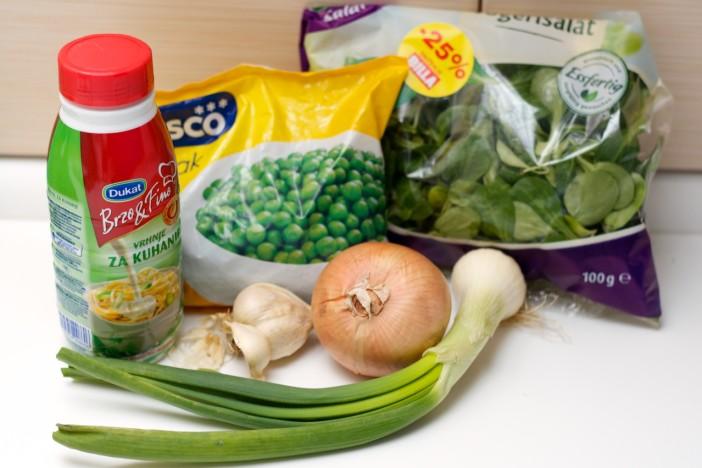 Krem juha od matovilca i graska bez krumpira brašna i vrhnja 1