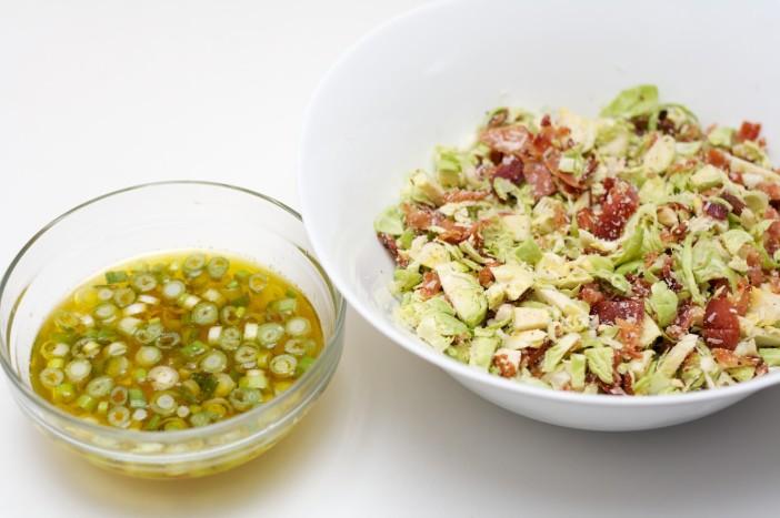 Prokulice na salatu sa špekom i ljutim dresingom od naranče i limuna 11