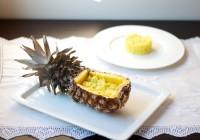 thai slatko ljuta piletina u ananasu
