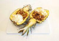 thai piletina s ananasom uz rižu recept