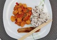 thai slatko ljuta piletina s ananasom
