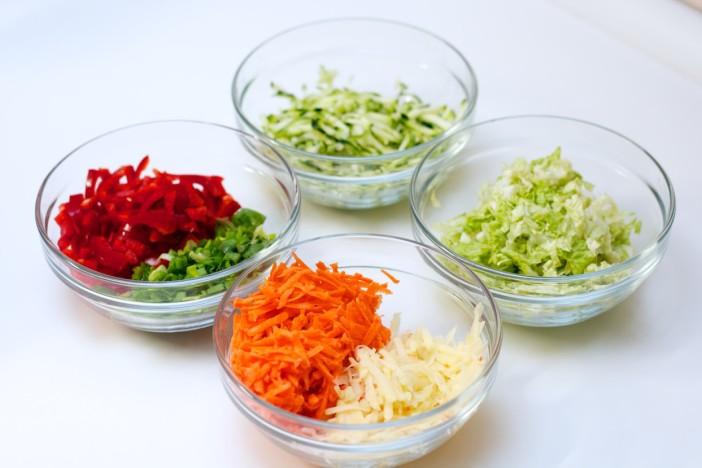 Korejske palacinke s povrcem i kineskim kupusom 1