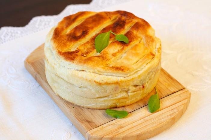 Milanez torta s šunkom jajima špinatom i sirom 18