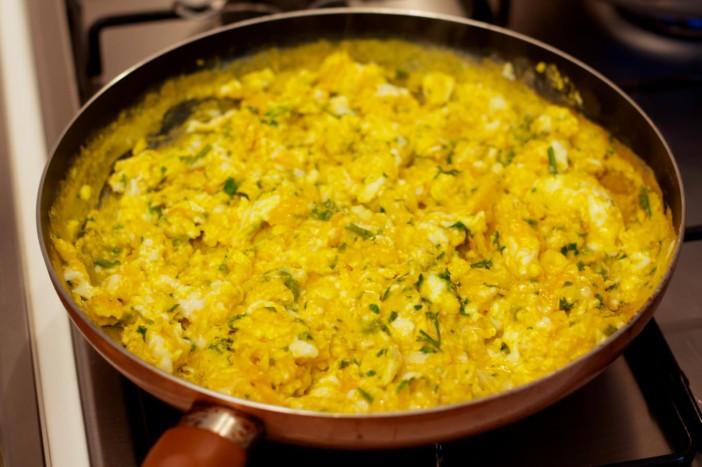 Milanez torta s šunkom jajima špinatom i sirom 4