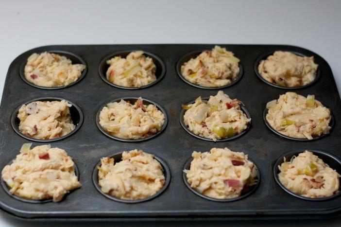 Špek muffin pogacice 9