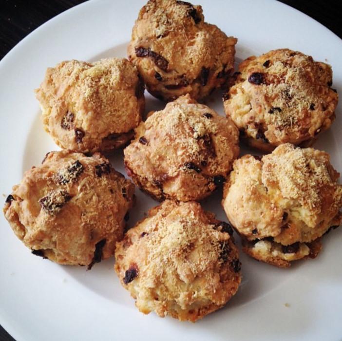 muffini sa špekom i lukom