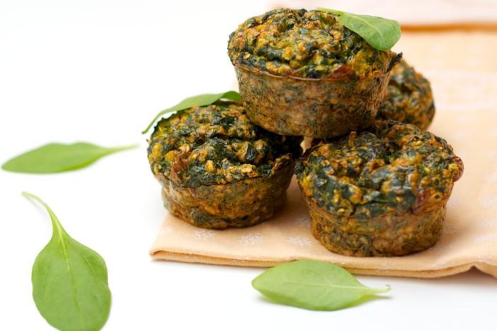 Muffini od zobenih pahuljica i špinata 31 1