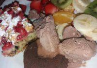 sezona jagoda i recept za brzi kolač s jagodama i čokoladom