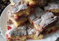 brzi kolač s malinama