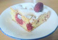 recept za kolač s malinama
