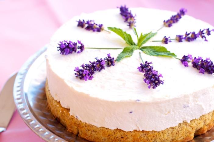 Kolac torta od lavande i biskvita s maslinovim uljem 2