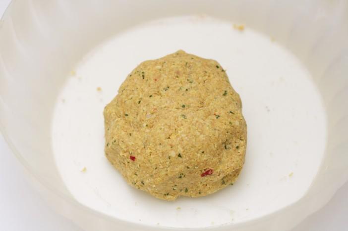 Indijski kruh od slanutka 3