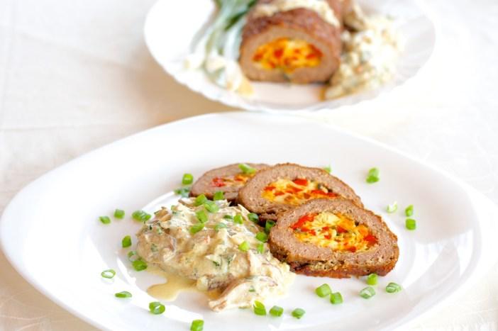 Jesenska punjena mesna štruca s povrćem i sirom 20
