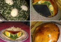 pita s integralnim tijestom punjena brokulom i kuhanim jajima