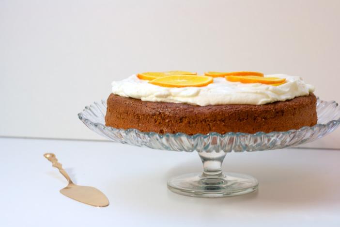 Bozicna biskvit torta od oraha i narance Darkova web kuharica 10