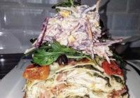 lazanje s piletinom florentin