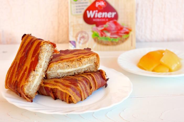 Grill tost sa sirom zamotan u slaninu špek darkova web kuharica 6