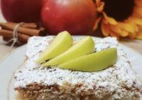 brzi kolač s jabukama i grisom