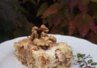 kolač od jabuke i oraha