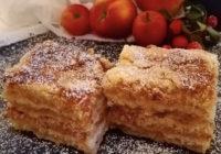 recept za pitu od jabuka i grisa