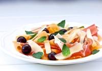 dalmatinski pršut paški sir i dinja