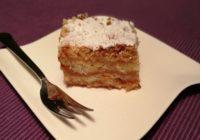 kolač od jabuka i griza