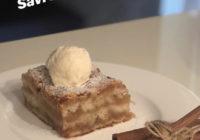 pita s jabukom i sladoledom
